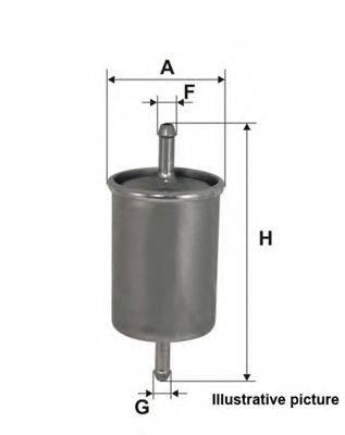 OPEN PARTS EFF507020 Топливный фильтр