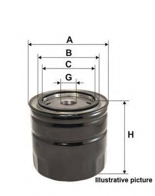 OPEN PARTS EOF412820 Масляный фильтр