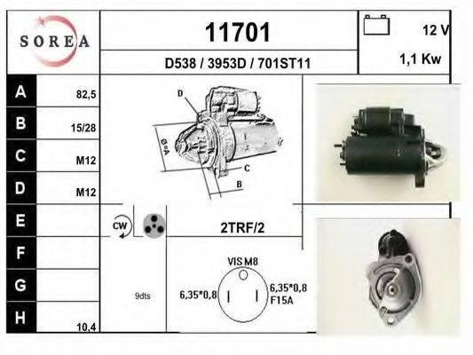 EAI 11701 Стартер