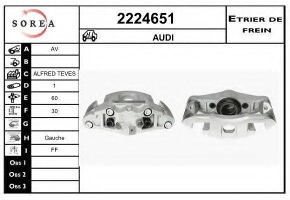 EAI 2224651 Тормозной суппорт
