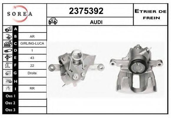 EAI 2375392 Тормозной суппорт