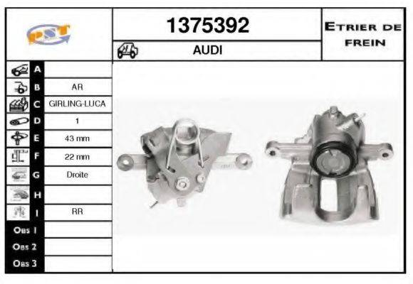 SNRA 1375392 Тормозной суппорт