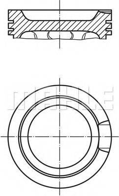 PERFECT CIRCLE 56038880 Поршень