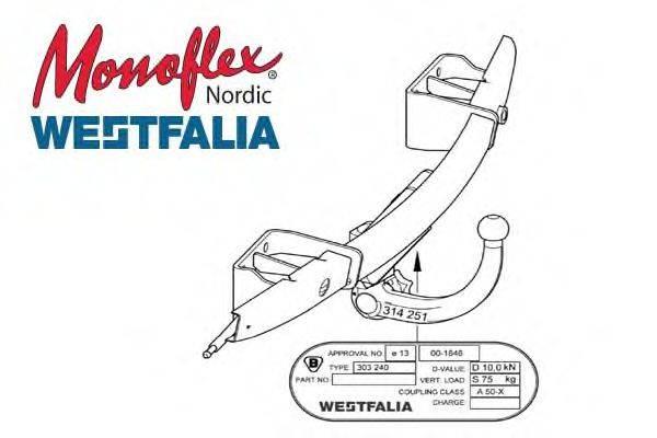 MONOFLEX 303330 Прицепное оборудование