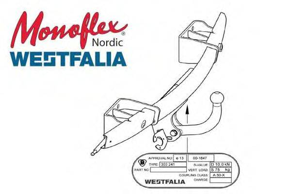 MONOFLEX 303331 Прицепное оборудование