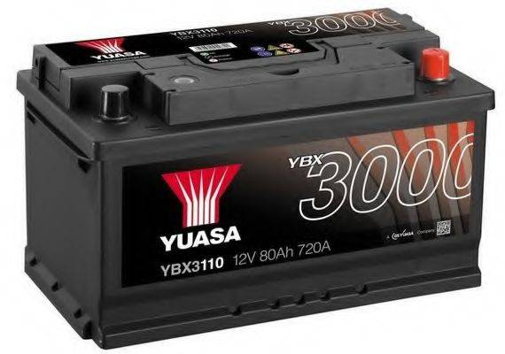 YUASA YBX3110 Стартерная аккумуляторная батарея