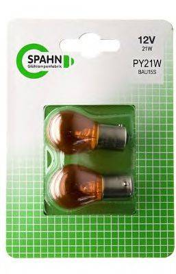 SPAHN GLUHLAMPEN BL2011 Лампа накаливания, фонарь указателя поворота; Лампа накаливания, фонарь указателя поворота