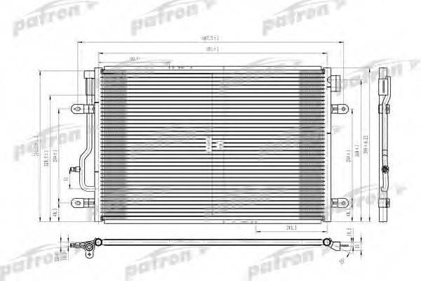 PATRON PRS3622 Конденсатор, кондиционер