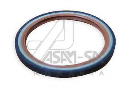 Уплотняющее кольцо, коленчатый вал ASAM 01338