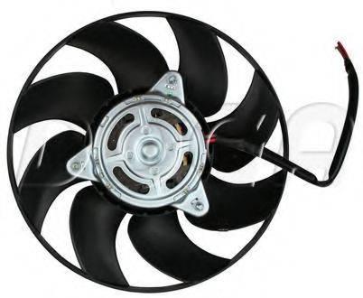 DOGA EAU022 Вентилятор, охлаждение двигателя