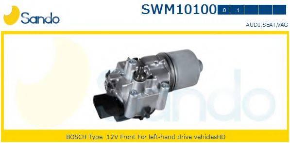 SANDO SWM101000 Двигатель стеклоочистителя