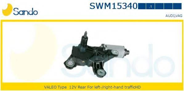 SANDO SWM153401 Двигатель стеклоочистителя