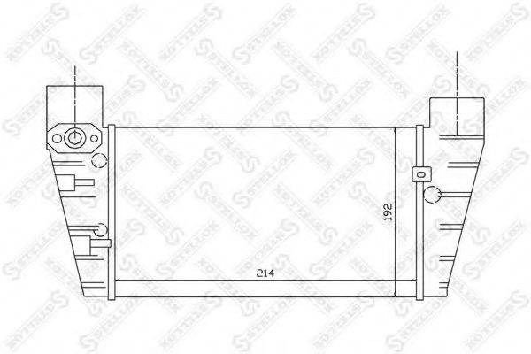 STELLOX 1040099SX Интеркулер