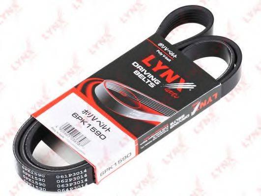LYNXAUTO 6PK1590 Поликлиновой ремень
