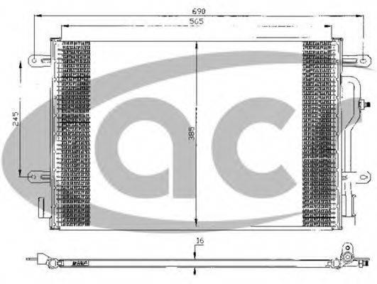ACR 300432 Конденсатор, кондиционер