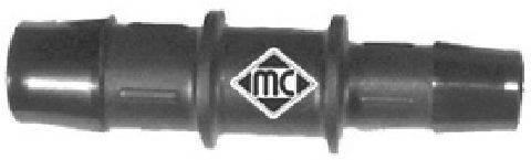 Соединительный патрубок, трубопровод охлаждающей жидкости METALCAUCHO 00049