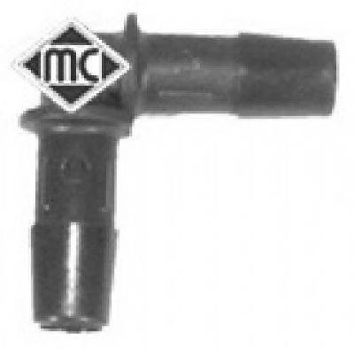 Соединительный патрубок, трубопровод охлаждающей жидкости METALCAUCHO 00052