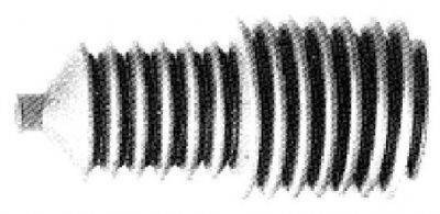 Пыльник, рулевое управление METALCAUCHO 00265