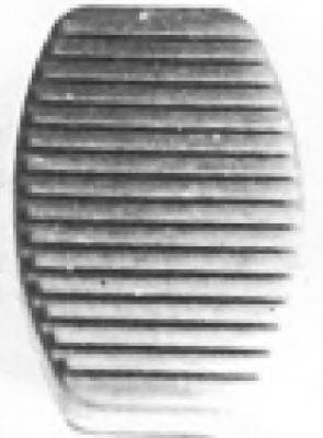 Накладка на педаль, педаль сцепления METALCAUCHO 00413