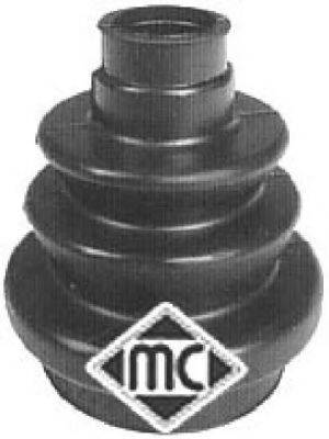 Комплект пылника, приводной вал METALCAUCHO 01114