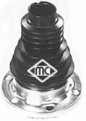 Комплект пылника, приводной вал METALCAUCHO 01192