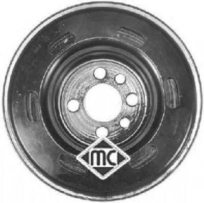 METALCAUCHO 04405 Ременный шкив, коленчатый вал
