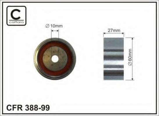 CAFFARO 38899 Паразитный / Ведущий ролик, зубчатый ремень