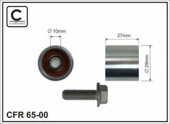 CAFFARO 6500 Паразитный / Ведущий ролик, зубчатый ремень