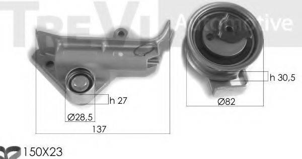 TREVI AUTOMOTIVE KD1347 Комплект ремня ГРМ