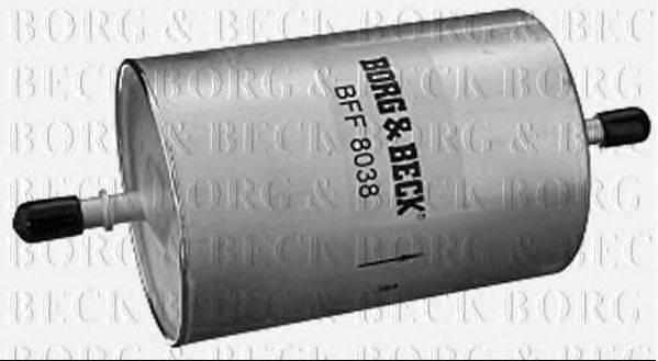 BORG & BECK BFF8038 Топливный фильтр