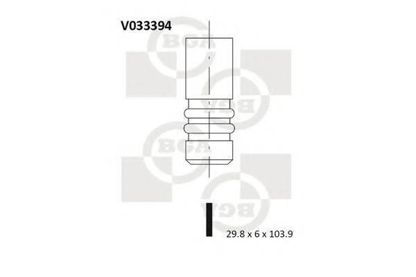 BGA V033394 Выпускной клапан