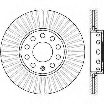 JURID 561548J Тормозной диск