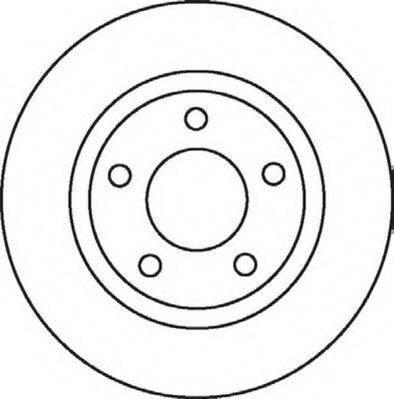 JURID 562060J Тормозной диск