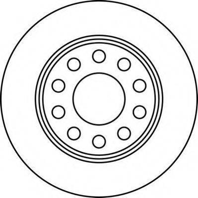 JURID 562191JC Тормозной диск