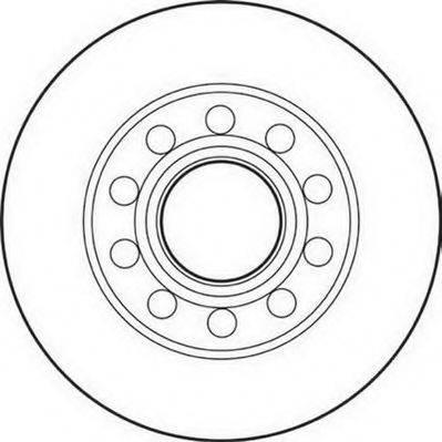 JURID 562192JC Тормозной диск