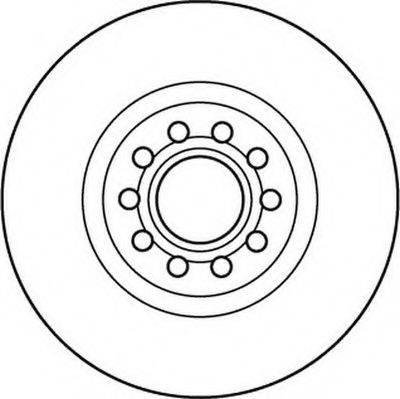 JURID 562383JC Тормозной диск