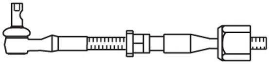 FRAP T597 Поперечная рулевая тяга