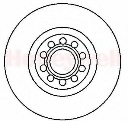 BENDIX 562199B Тормозной диск