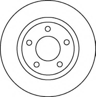 BENDIX 562060B Тормозной диск