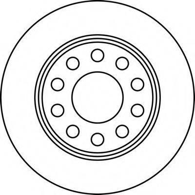 BENDIX 562191B Тормозной диск