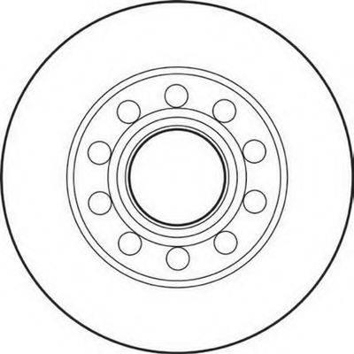BENDIX 562192B Тормозной диск