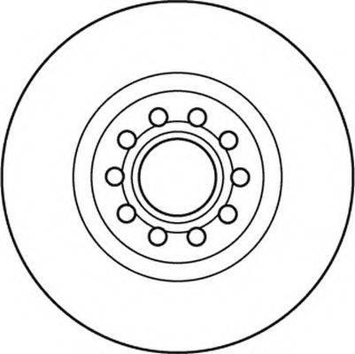 BENDIX 562383B Тормозной диск