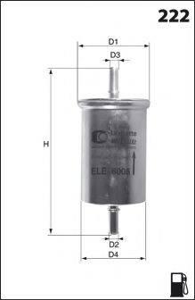 LUCAS FILTERS LFPF009 Топливный фильтр