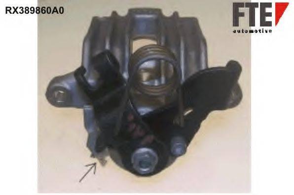 FTE RX389860A0 Тормозной суппорт