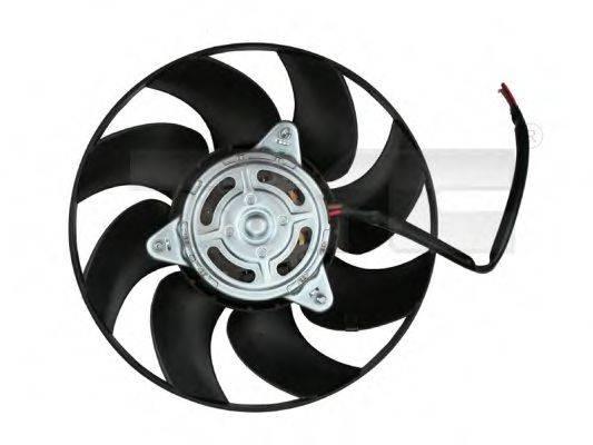 TYC 8021004 Вентилятор, охлаждение двигателя
