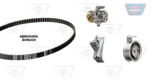 OPTIBELT KT1233W1 Водяной насос + комплект зубчатого ремня