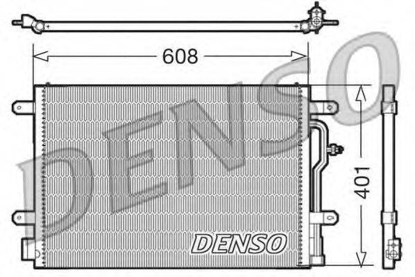 DENSO DCN02012 Конденсатор, кондиционер