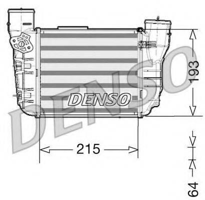 DENSO DIT02020 Интеркулер