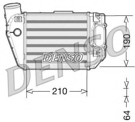DENSO DIT02021 Интеркулер