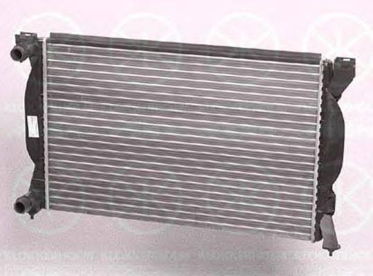 KLOKKERHOLM 0019302195 Радиатор, охлаждение двигателя